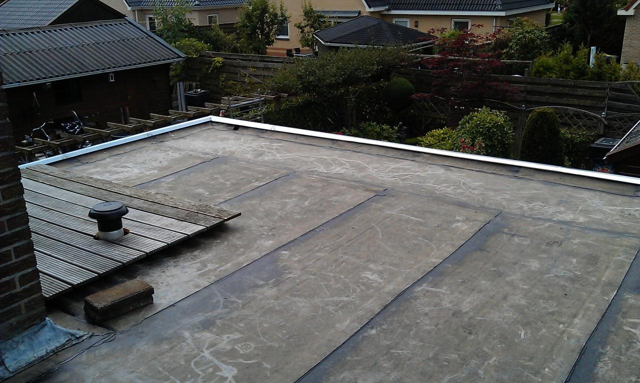 Bitumineuze dakbedekking installatiebedrijf p buist - Kleur schilderij zink ...